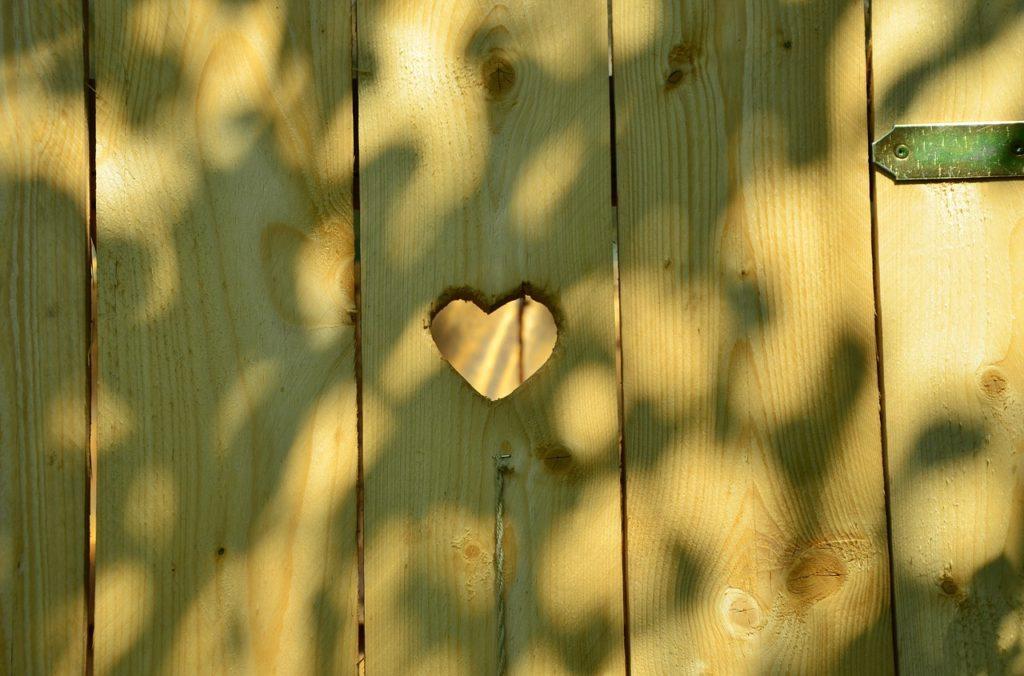 door, heart, toilet